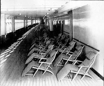 Titanic Deck Chairs