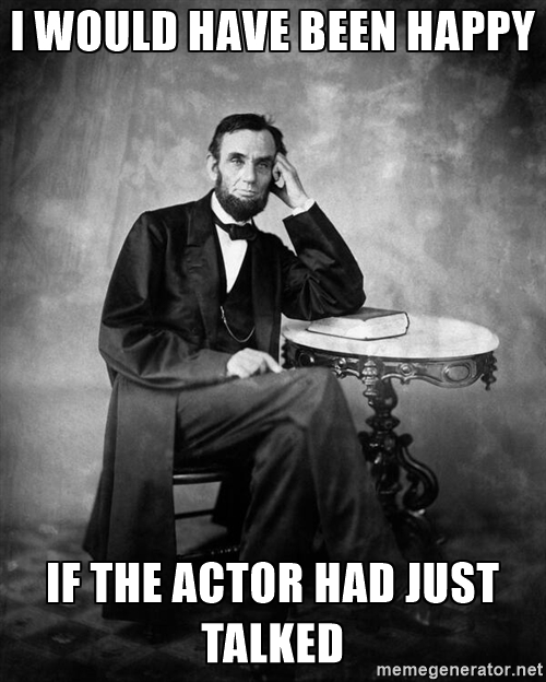 Lincoln actor
